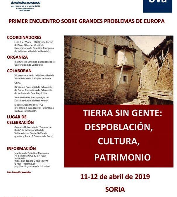 LA UNIVERSIDAD, SE IMPLICA ACTIVAMENTE EN BUSCAR SOLUCIONES AL GRAVE PROBLEMA DE LA DESPOBLACIÓN EN EUROPA