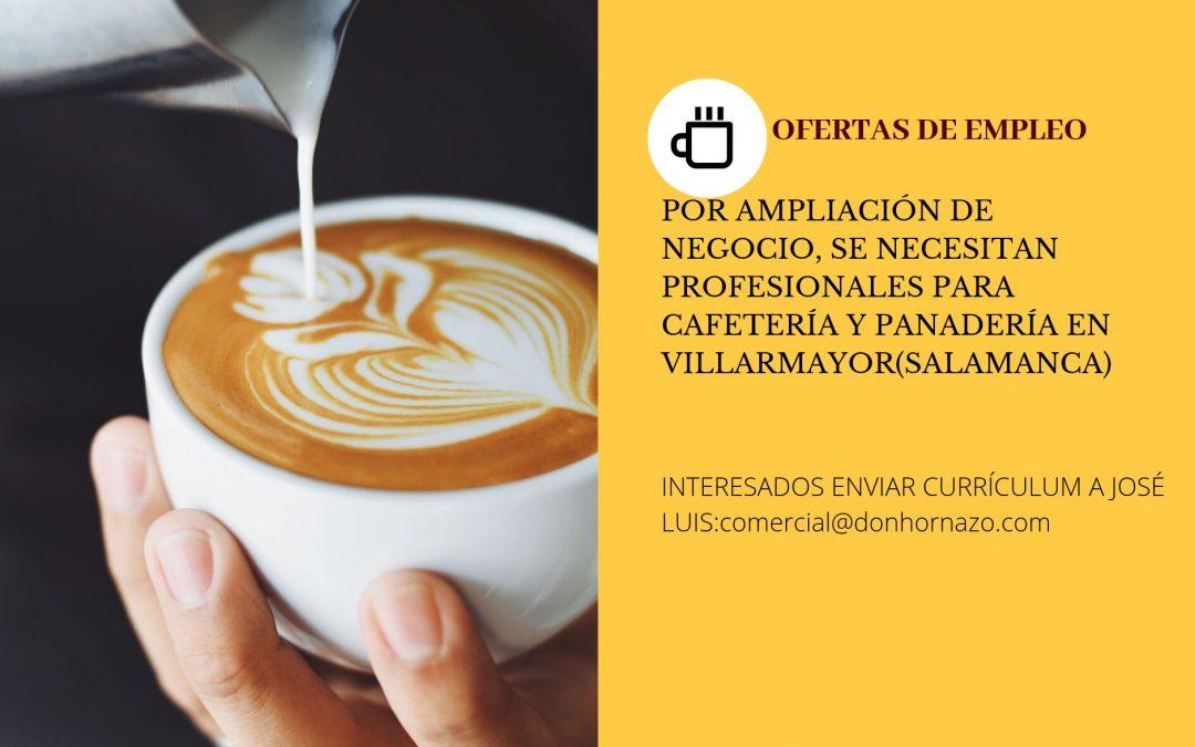 Profesionales para cafetería