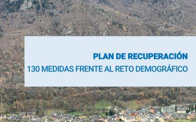 PLAN DE RECUPERACIÓN 130 MEDIDAS FRENTE AL RETO DEMOGRÁFICO