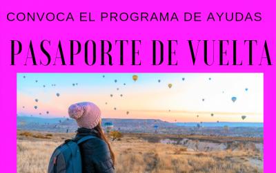 """""""PASAPORTE DE VUELTA"""", PROGRAMA DE AYUDAS PARA EL RETORNO A CASTILLA Y LEÓN"""