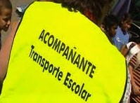 ACOMPAÑANTE DE RUTAS de transporte escolar