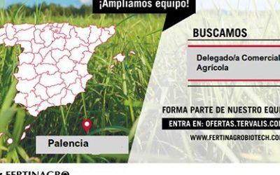 DELEGADO/A COMERCIAL AGRÍCOLA PARA LA PROVINCIA DE PALENCIA