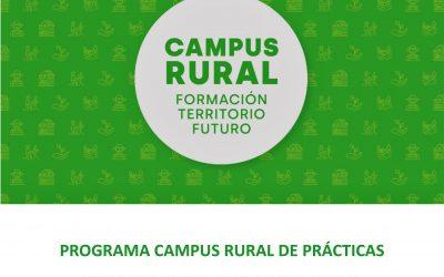 """""""Campus Rural """"El Programa para reconectar a los estudiantes universitarios con el territorio a través de prácticas de inmersión rural en zonas en riesgo de despoblación"""